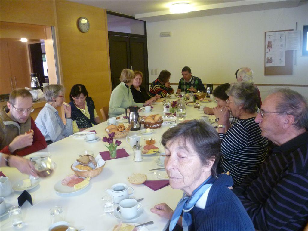'Danke-Frühstück' im Pfarrheim