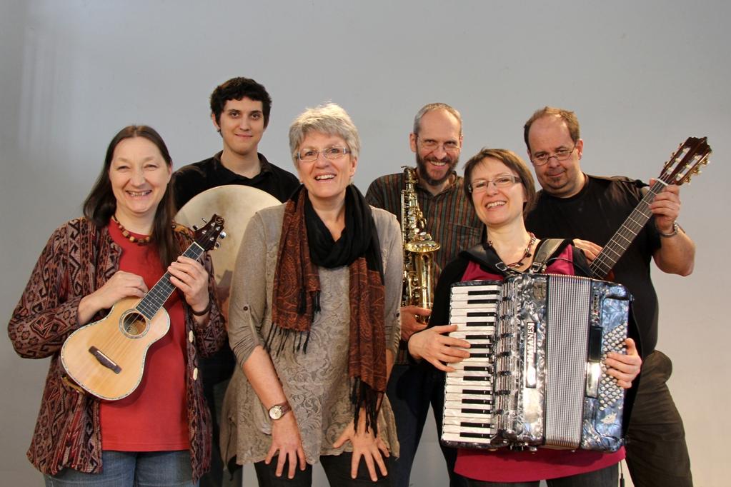 Ursula Leutgöb & Band by Judith Aschenbrenner